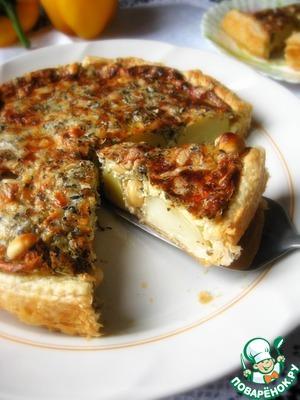 Рецепт Картофельный пирог с орехами
