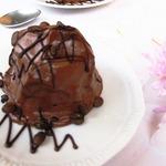Кофейно-шоколадное мороженое с черносливом