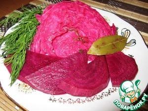 Рецепт Капуста маринованная по-гурийски