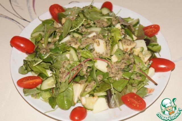 готовим легкие салаты с фото