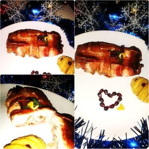 Рецепт Праздничный рулетик в ароматном коврике