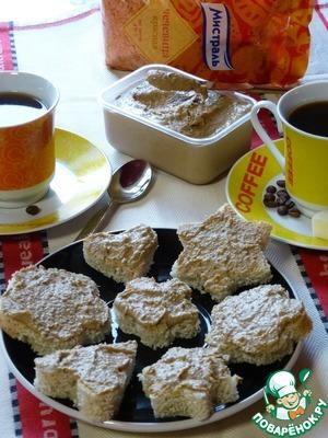 Рецепт Паштет из красной чечевицы и гусиной печени