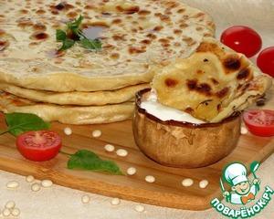 Рецепт Лепешки с белой фасолью Бланш