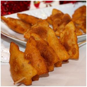 """Рецепт Новогоднее печенье """"Елочки"""" из маша"""