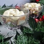 Закуска из свёклы, авокадо и сельди