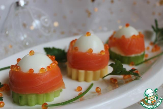 Праздничная закуска рецепты пошагово