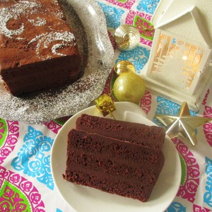 Рецепт Пряный шоколадный террин