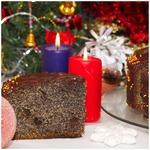 Рождественский маковый торт