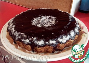Рецепт Песочный пирог с грецкими орехами