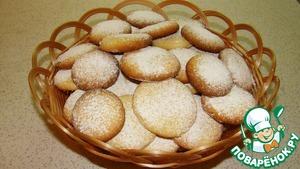 Готовим Песочное печенье рецепт с фото