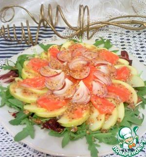"""Рецепт Салат """"Рыба в яблоках"""""""