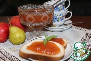 Рецепт Джем из груш и персиков
