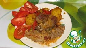Рецепт Индейка с яблоками
