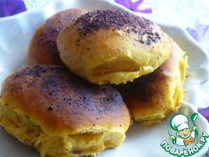 Рецепт Тыквенные булочки и бублики