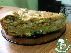 """Рецепт Пирог с капустой """"Пикантный"""""""