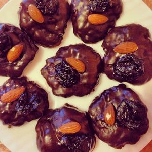 Рецепт Быстрое банановое печенье с шоколадной крошкой