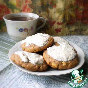 Рецепт Печенье с соленым арахисом