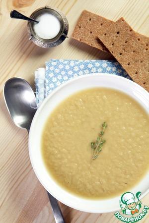 Рецепт Охлажденный суп из порея и авокадо