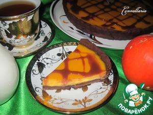 Рецепт Шоколадно-тыквенный тарт