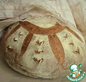 Рецепт Французский хлеб на закваске