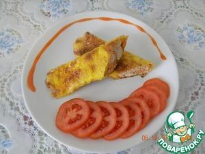 Рецепт Куриный бризоль