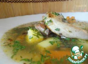 Рецепт Быстрый и легкий перепелиный суп