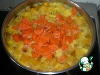 Суп-пюре из тыквы ингредиенты