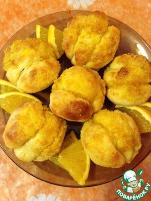Рецепт Апельсиновые булочки