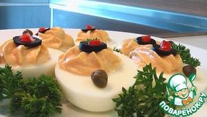 Острые пикантные яйца домашний пошаговый рецепт с фото