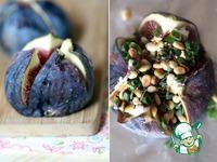 Запеченный инжир с козьим сыром и кедровыми орешками ингредиенты