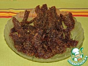 Рецепт Сладкая вяленая говядина по-индонезийски