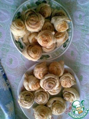 Рецепт Вкусненькие плюшки