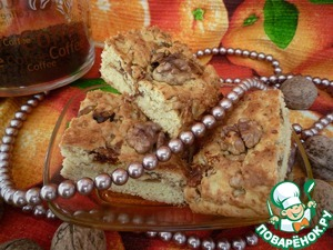Рецепт Бар из грецких орехов