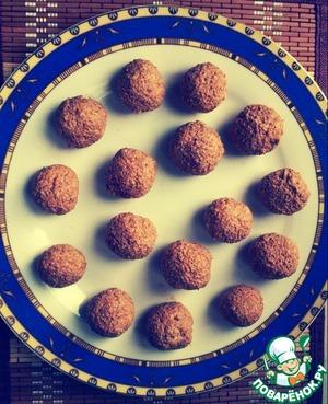 Рецепт Творожные конфеты для диеты