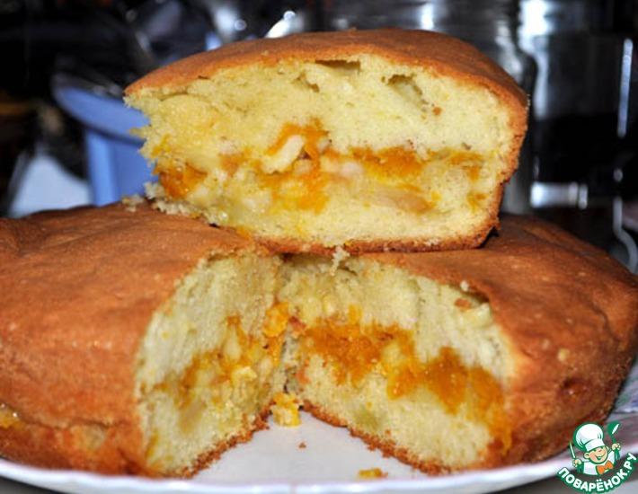 Печенье с тыквой и яблоками