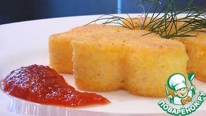Рецепт Полента в сыре пармезан