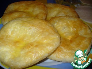 Рецепт Хачапури из слоeного теста