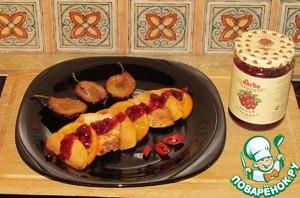 Рецепт Филе индейки с фруктами в медовой глазури
