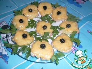 Рецепт Куриные отбивные с ананасами