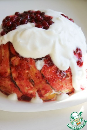 Рецепт Английский ягодный пудинг