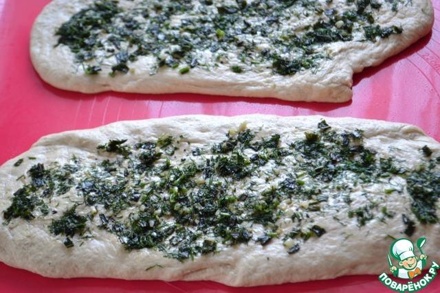 Пирожки с шампиньонами в духовке рецепт