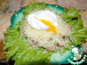 Рецепт Салатик с креветками