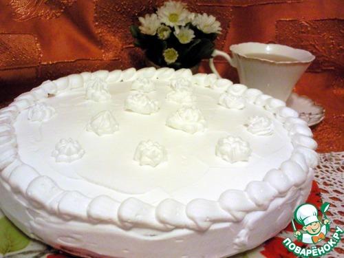 Торт 3 молока рецепт с фото