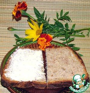 Рецепт Сырно-чесночный хлеб с отрубями