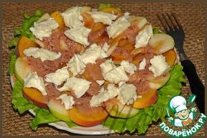Рецепт Закусочный салат с клюквенным соусом