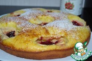 Рецепт Шведский яблочный пирог с клюквой