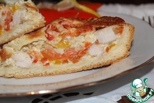 Пирог с индейкой рецепт с пошагово