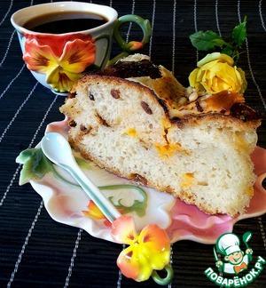 Рецепт Хлеб-сырно луковый с кедровыми орешками