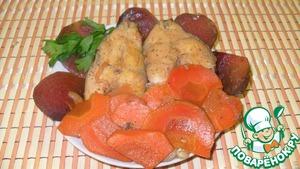 Рецепт Карп с овощами