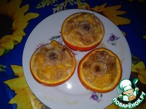 """Рецепт Десерт """"Апельсиновые корзиночки"""""""